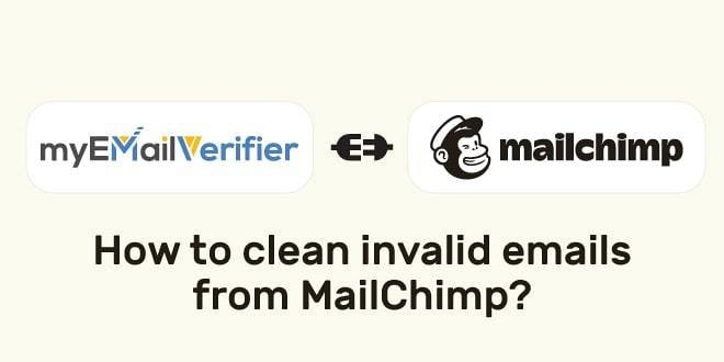 , How To Clean Invalid Emails From MailChimp?