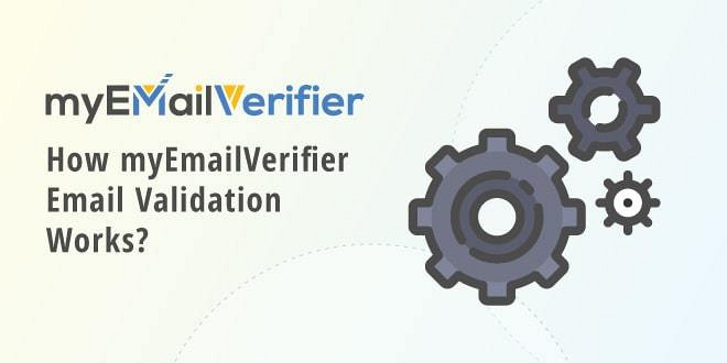 how myemailverifier email validation works