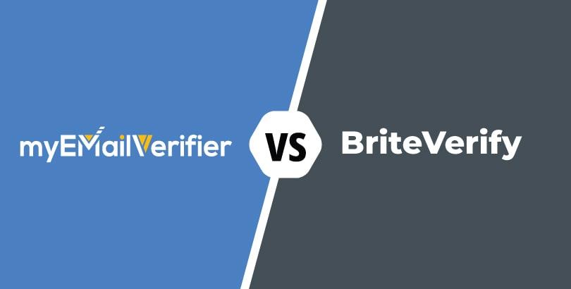 , COMPARISON: Myemailverifier.com – Briteverify.com