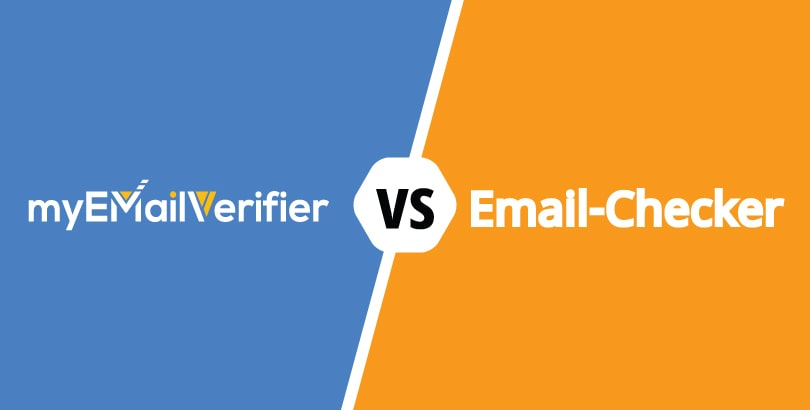 Comparison: MyEmailVerifier vs. Email-Checker