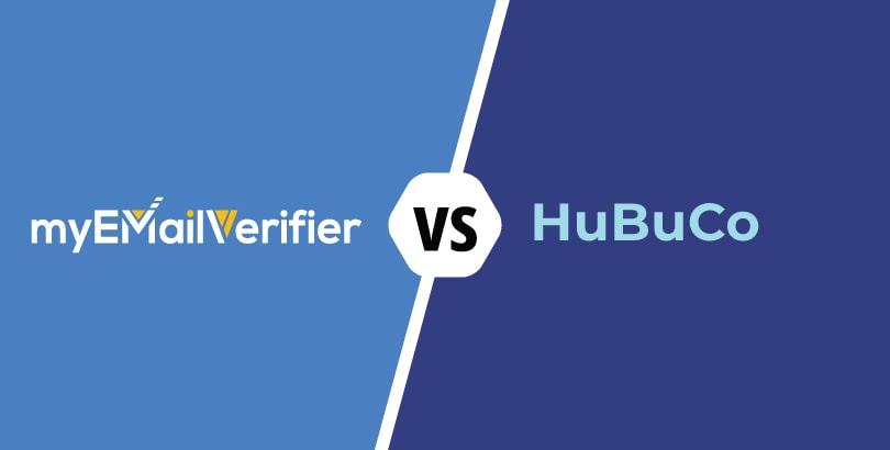 MyEmailVerifier vs. Hubuco