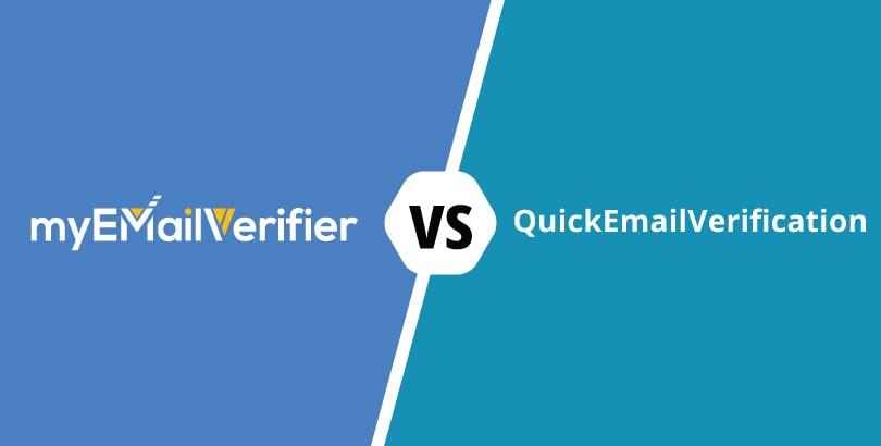 MyEmailVerifier vs. QuickEmailVerification