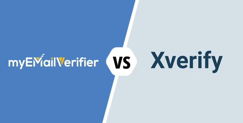 MyEmailVerifier vs. Xverify