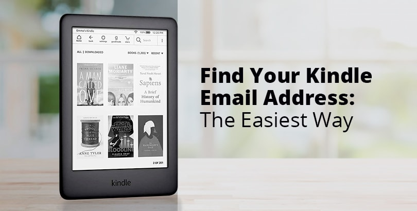 Find Your Kindle Email Address: The Easiest Way