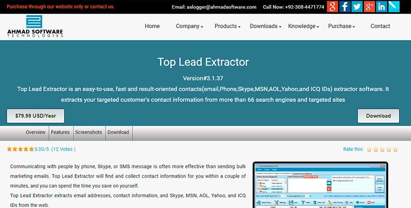 Top Lead Extractor